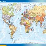 Carte monde magnétique